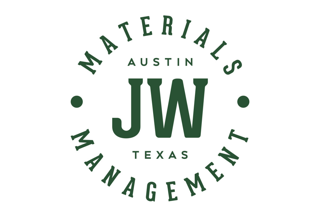 jw materials management logo design austin texas